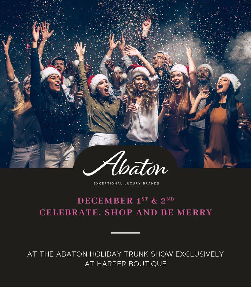 Abaton Holiday Trunk Show