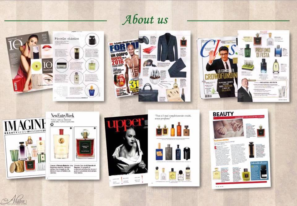 The world of Chinotto Eau de Parfum by Abaton in media