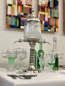 Asolument Absinthe perfume and liquor